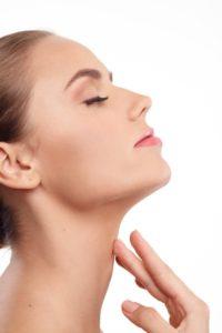 首のリンパ腫れ